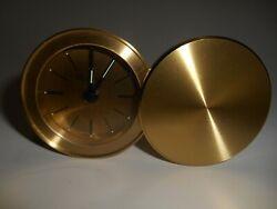 Tiffany Brass Travel Alarm Clock