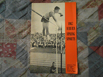 1967 AUBURN BASEBALL MEDIA GUIDE* Yearbook BEST TEAM IN AUBURN HISTORY**Book