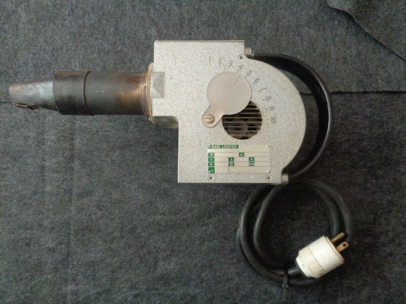 KARL LEISTER HOTWIND Hot Air Blower Welding Switzerland Vintage
