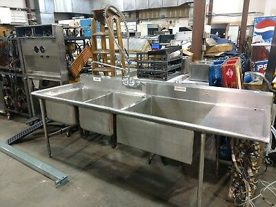Sheet Pan Sink Three Bay Restaurant