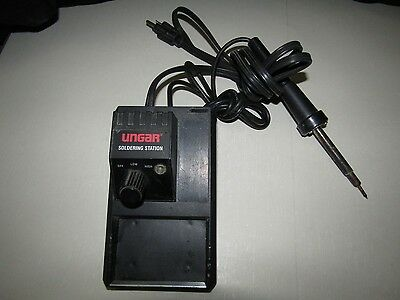 Ungar Electronic Soldering Station Model - Tested Bonus