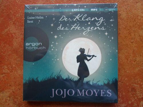 "Jojo Moyes ""Der Klang des Herzens"",2 mp3-CDs,neu,OVP,ohne Porto"