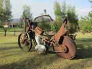 1953 AJS 500 rusty replica motorcycle Dayboro Pine Rivers Area Preview