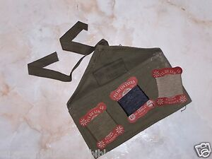French-OD-Tool-Pouch-sewing-kit-w-String-Tie-6-1-2-wide-x-3-1-2-long-E280