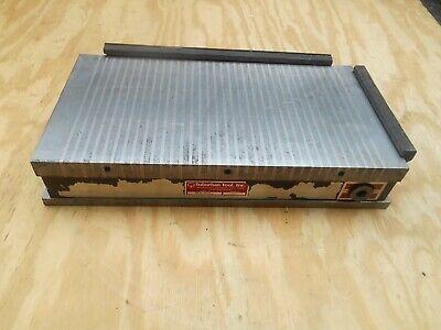 Suburban Tool Mcb-815 8x 15 Standard Pole Rectangular Permanent Magnetic Chuck