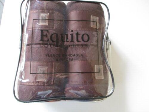 Equito Fleece Bandages Set of 4