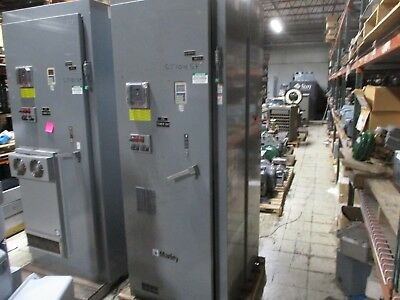 Square D Enclosed Altivar Ac Drive W Bypass Breaker Disconnect 60hp 3ph Used