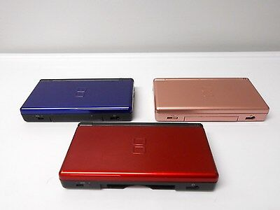 Nintendo Ds Lite Systems W Charger Bundle Select System Options Free Shipping