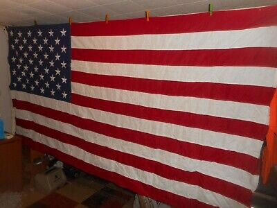 VALLEY FORGE BEST United States U.S. 50 STAR American Flag ~ 5' x 9.5' LARGE