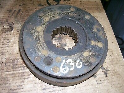 Vintage Ji Case 630 Gas Tractor -brake Disc Assembly - 1959