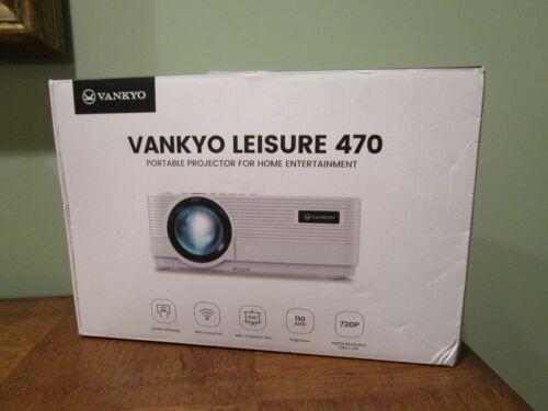 Vankyo Leisure 470 LED LCD Portable Video Photo Movie Projector