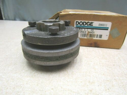 "Dodge 096011 #35 X 1 KS Torque Tamer Friction Overload Clutch 1"" Keyed Bore"