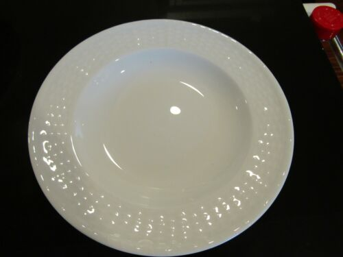 3~VERY LOVELY~9 INCH WEDGWOOD RIMMED SOUP BOWLS~ NANTUCKET