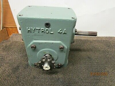 Hytrol 4a 4ac 10-1 Lh Gearbox Speed Reducer 101 Ratio