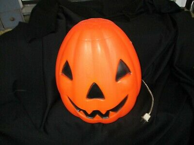 Vintage Empire Plastic Halloween JACK O'LANTERN PUMPKIN Blow Mold dated 1968
