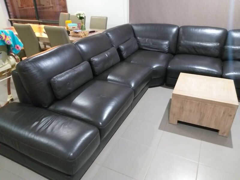 Brilliant Leather Couch 8 Seater Sofas Gumtree Australia Whittlesea Ocoug Best Dining Table And Chair Ideas Images Ocougorg