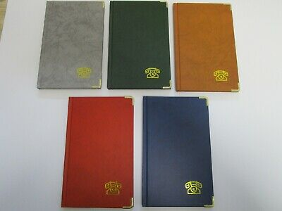 Adressbuch ca. DIN A 5 Stylex mit Register verschiedene Farben