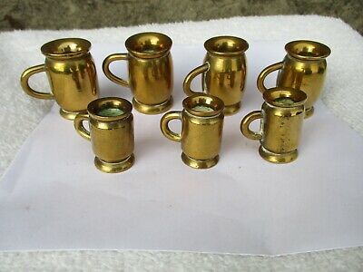 Brass Retro Design Large Bear Claw Drop Made in the USA 2 pieces