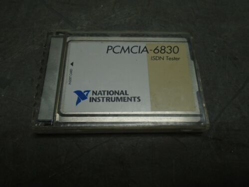 National Instruments PCMCIA-6830 ISDN Tester