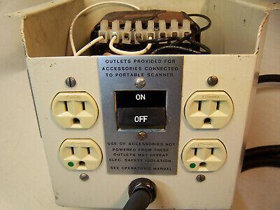 Ultrasound Isolation Transformer Johnson Johnson 120v To 120v Ac