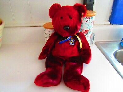 Ty Beanie Buddies Buckingham - Bear (UK Exclusive)