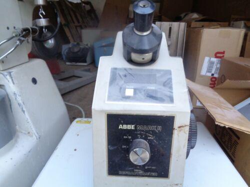 Reichert Abbe Mark II Digital Refractometer 10480 USED