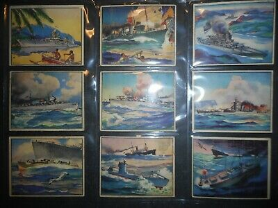 1939 WORLD IN ARMS COMPLETE(48) CARD SET GUM (Arm Inc Collections)