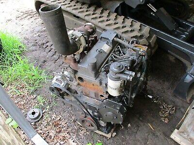 Vermeer Bc1000xl Cummins B3.3 Diesel Engine For Rebuilding