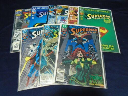DC Superman Comic Lot of 9