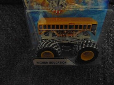 Holiday Higher Education Monster Jam Truck With Snow Tires 2015