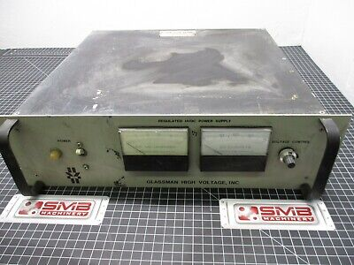Glassman High Voltage Inv. Regulated Hvdc Power Supply M048300-2