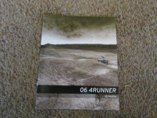 2006 Toyota 4Runner USA Market Original Brochure