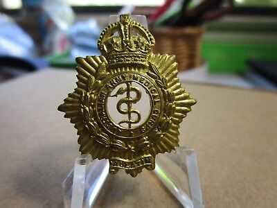 WWII Australia Army Medical Corps Collar Device Badge #1929