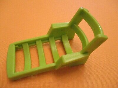 992 car & camper  VINTAGE FP Little People  GREEN  LOUNGE CHAIR  PLAYGROUND  GUC