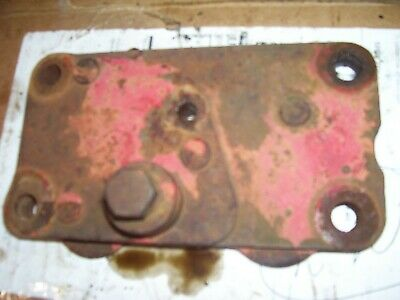 Vintage Ford 850 Gas Tractor - Hydraulic Remote Outlet Plate -1955