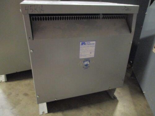 ACME T-2A-53313-3S, 45 KVA, 480 X 208/120 Volt, 3 Phase, Transformer (NS)- T201