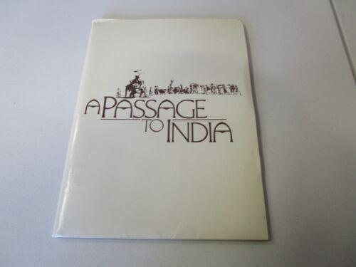 MOVIE PRESS KIT A PASSAGE TO INDIA JUDY DAVIS MOVIE PHOTOS AND MOVIE INFO