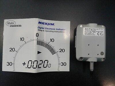 Maxum Digital Electronic Indicator 0001 Mahr Federal Dei-11121