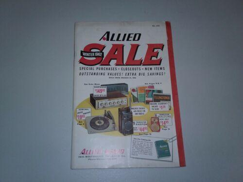 Allied Radio winter catalog 1962