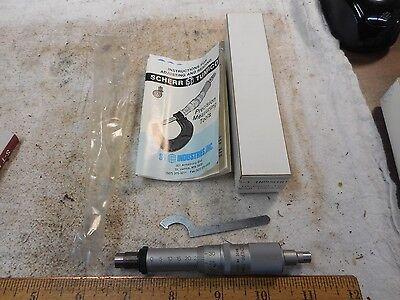 Nib Scherr Tumico Replacement Micrometer Head 25mm Range .01 Mint In Box