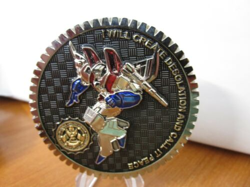 NYPD IAB Internal Affairs Transformers Ultra Magnus Challenge Coin #848D