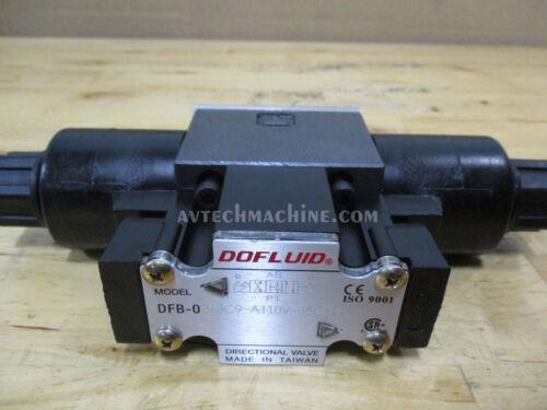Dofluid Hydraulic Solenoid Valve DFB-02-3C9-A110