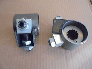 VW Bug Ghia Front axle Beam Adjusters For Ball Joint AC401310 Weld On Type 1