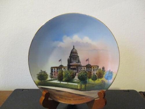 Circa 1910 Souvenir Plate State Capitol Building Providence Rhode Island