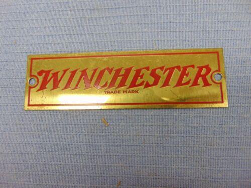 Vintage Original Winchester Metal dealer display sign