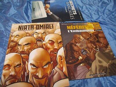3  Stück  Comic -  Buch  /  Hardcover - Bände , Comics Original - Ausgaben