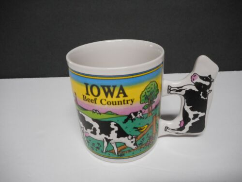 State Of Iowa Collectible Souvenir Coffee Mug. Excellent Condition.