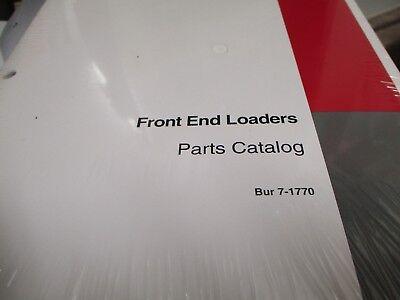 Case Front End Loaders Parts Catalog