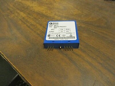 Analog Devices Isolated Frequency Input Module 5b46-01 Input0-25khz Output0-5v