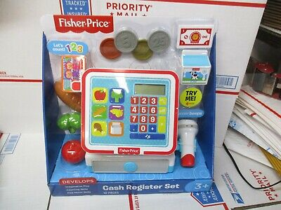 FISHER PRICE CASH REGISTER SET 93515/93516 NEW FAST/FREE SHIPPING